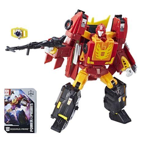 Transformers Трансформер 4в1 Родімус Прайм + Хот Род 23см - Rodimus