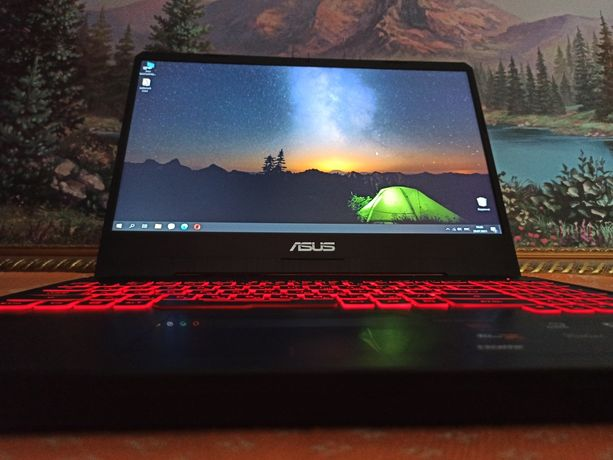 Игровой ноутбук ASUS TUF FX505DY 15 R5/8GB/1TB/RX 560X, 4 GB