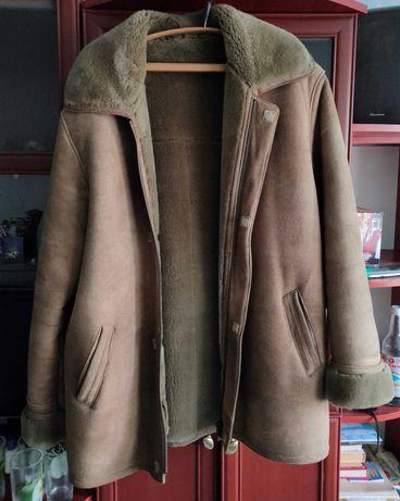 Дубленка мужская куртка зимняя