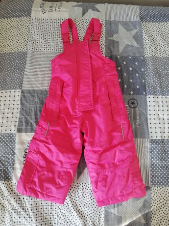 Spodnie narciarskie, spodnie na śnieg rozm. 74/80