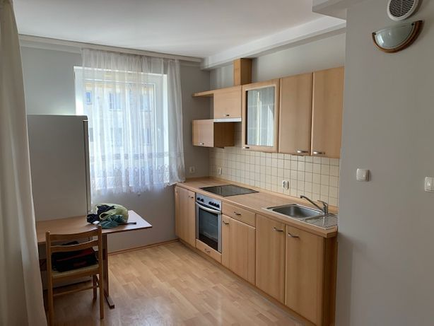 ul. Mosiężna 2 pokoje,balkon, garaż podziemny.nowszy budynek