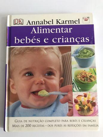 Livro 'Alimentar bebés e crianças'