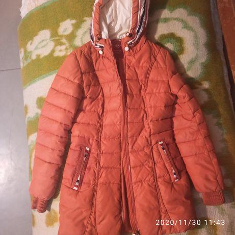 Куртка Macka Angel,синтепон,зима,цвет апельсин