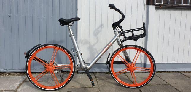 Rower miejski Mobike wał kardana bezobsługowy efektowny i wygodny.