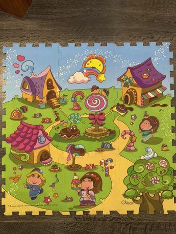 Коврик-мозайка Чикко Замок. Принцессы