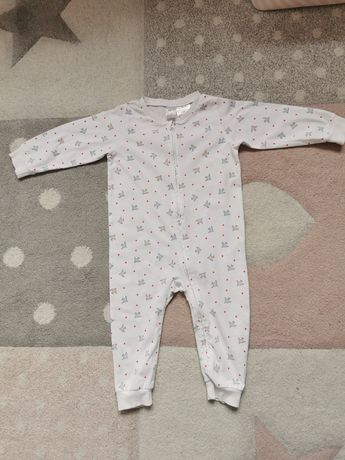 Piżama H&M 2szt na suwak