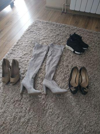Buty damskie różności