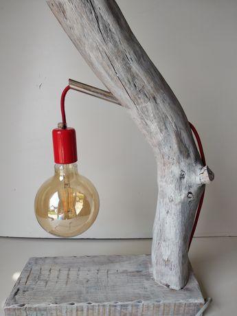 lampka biała vintage style