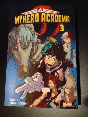 My Hero Academia vol.3
