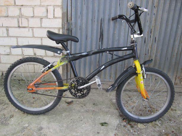 Велосипед BMX, стальная рама, колёса. 20 дюймов.