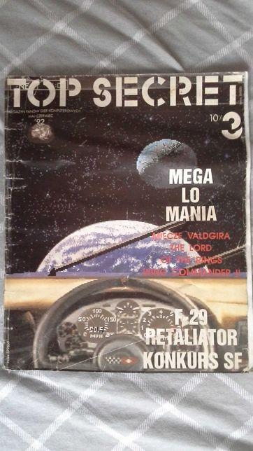 Top Secret numer 3 - rok 1992 - czasopismo dla graczy
