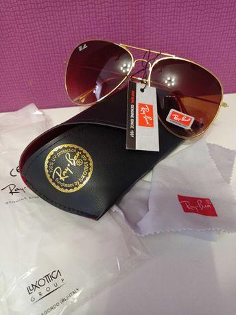 Новые солнцезащитные очки Ray-Ban Aviator RB 3025 Авиатор оригинал