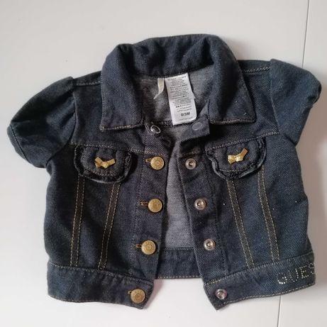 Bolerko, kurtka jeansowa Guess, rozmiar 0-6m