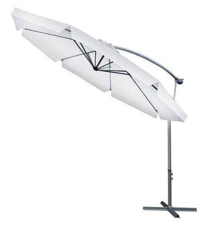 Садова парасоля 3м пляжна парасоля зонт садовый пляжный большой серый