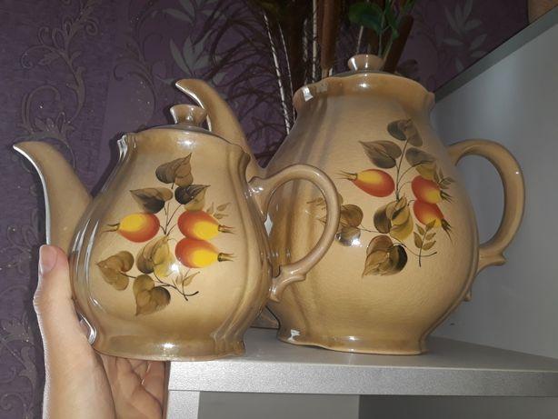 Набор чайничков больших