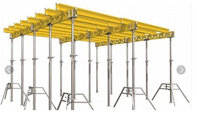 Wynajmę szalunki stropowe 100m2 Dźwigary Podpory metalowe Sklejka
