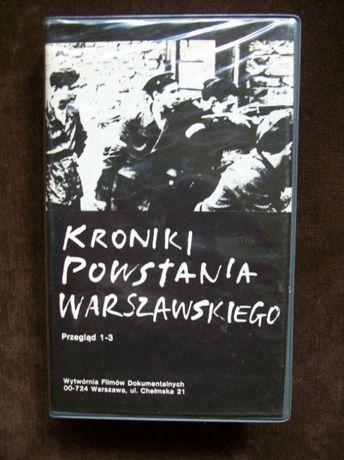 Kroniki Powstania Warszawskiego kaseta VHS