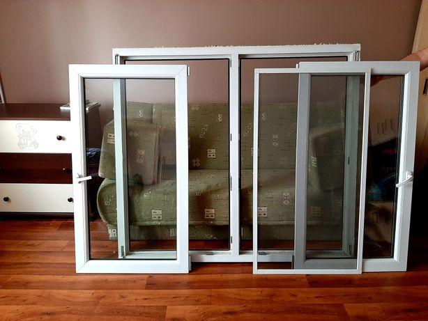 Okno pcv białe+moskitiera