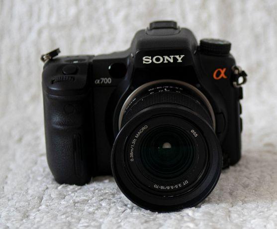 Sony Alpha A700 body + obiektyw DT 18-70 mm F3,5-5,6