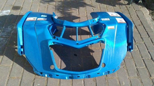 ATV CF MOTO 520 QUAD maska osłona przód niebieska