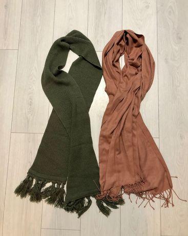 2 женских шарфа за 75 грн