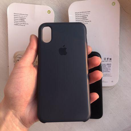 Чехол на iphone X/Xs (Blue)