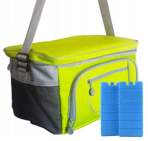 Duża torba termiczna turystyczna XXL wkłady gratis