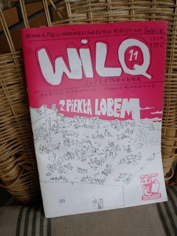 Komiks Wilq Superbohater 11  Minikiewicz Z piekła lobem