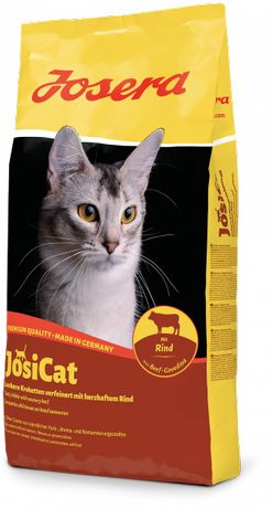 JOSERA JosiCat mit Rind 10kg karma dla kota