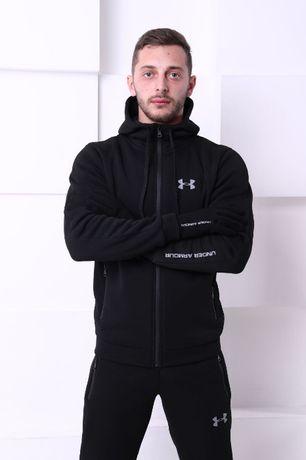Зимний костюм under armour Теплый спортивный костюм андер армор черный