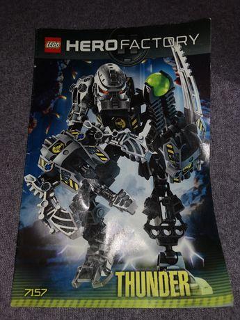 Lego Hero factory 7157 Thunder klocki Lego