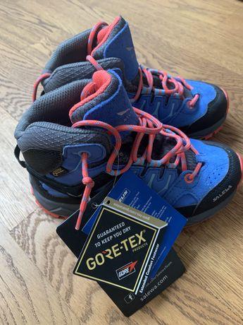 Nowe buty Salewa Gore-Tex& Michelin (dziewczęce rozmiar 27)