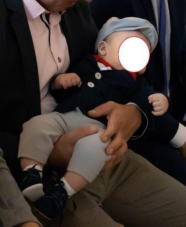 garnitur niemowlęcy do chrztu