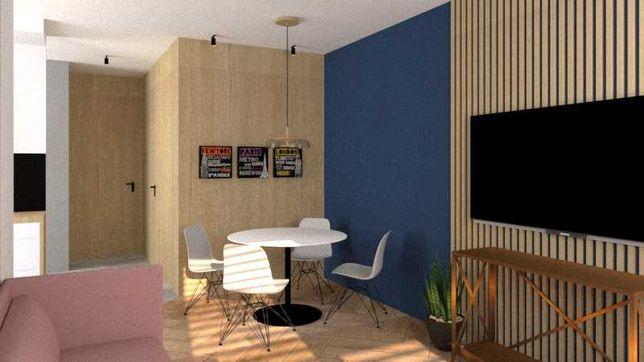 Apartament 53m2. Balkon + Garaż. SOHO - cesja umowy deweloperskiej