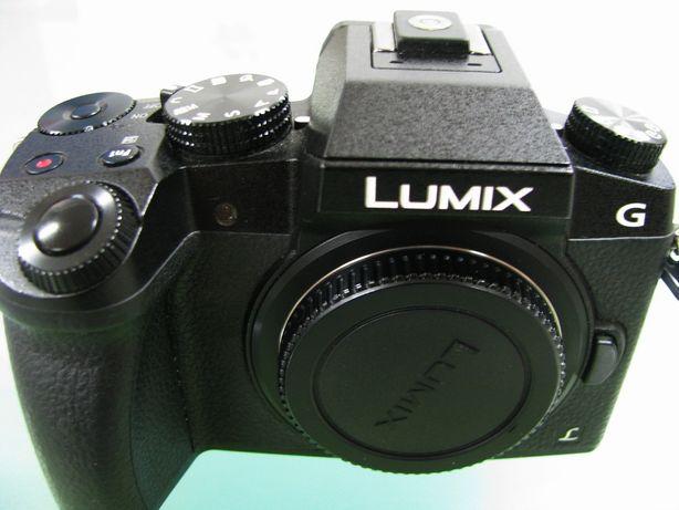 Câmara Reflex Panasonic DMC-G7K+Lentes+Extras