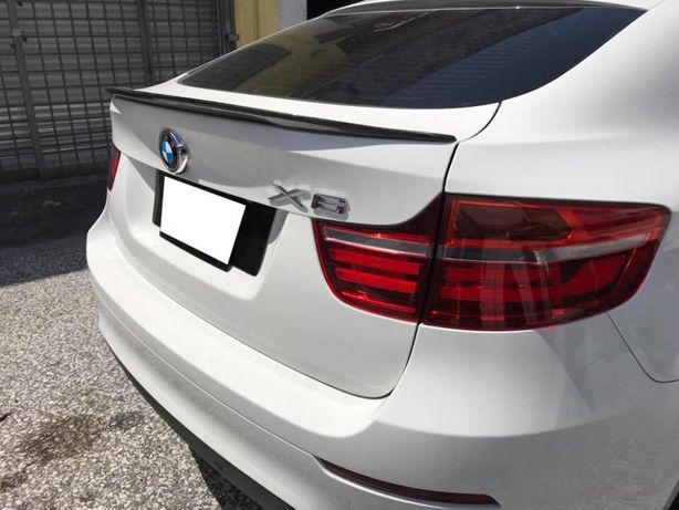 Cпойлер абс пластик карбон карбоновый BMW X6 E71 F16
