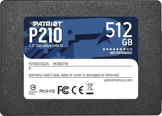 Nowy Dysk zewnętrzny SSD Patriot 512GB USB 3.0