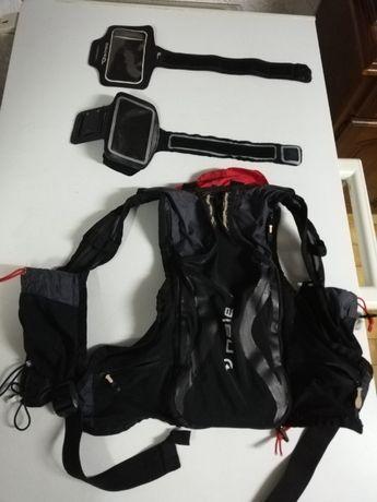 Mochila e bolsas para corridas