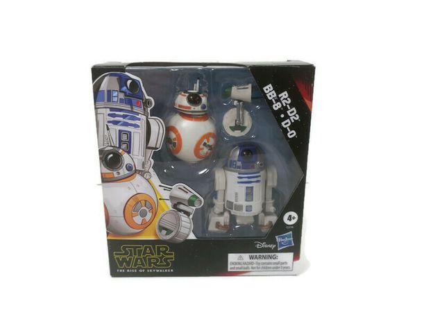 Figurki Star Wars Droidy (R2-D2, BB-8, D-0)