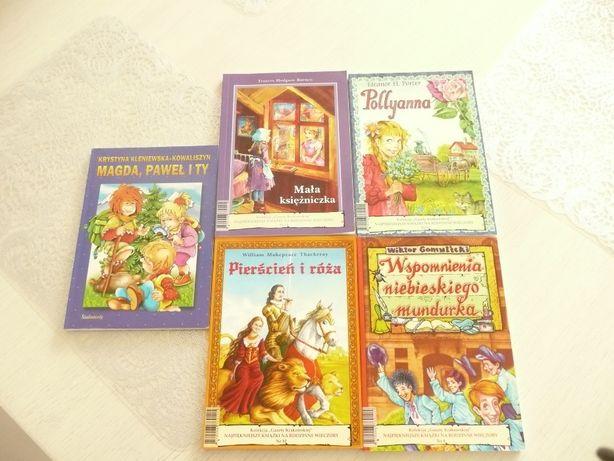 Kolekcja Gazety Krakowskiej : Pierścień i róza, Pollyanna i inne
