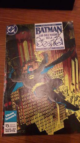 Revista Batman As Dez Noites da Besta (em espanhol)