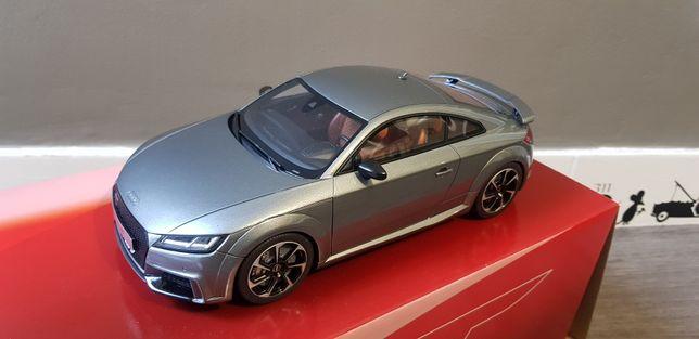 Audi TT rs 1 18 serie limitada e numerada