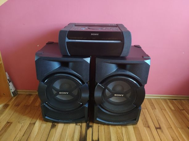 Home audio Sony Shake X30D zestaw muzyczny Bluetooth