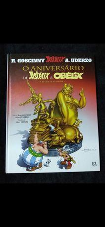 O Aniversário de Astérix & Obélix - o Livro de Ouro