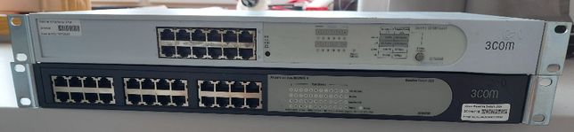 Switch 3com Baseline 10/100 oraz 3Com Baseline Switch 2024 3C16471B 24