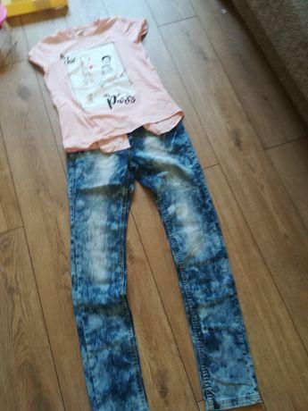 Spodni i bluzka zara