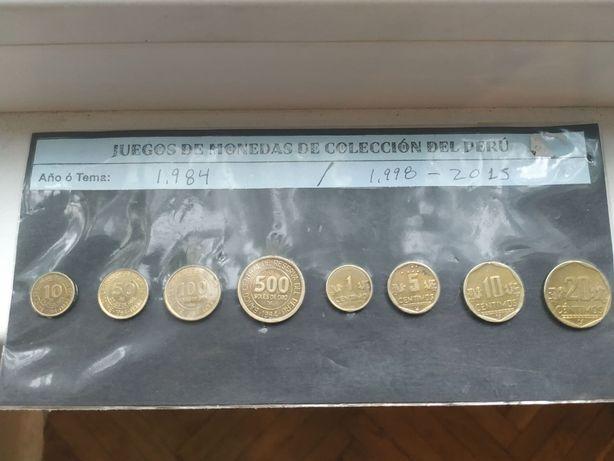 Набор монет Перу 1984-2015 г.г.