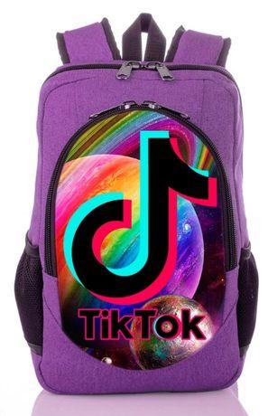 Рюкзак принт Tik Tok Тик Ток рюкзак купить с принтом школьный