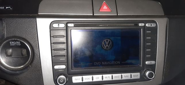 Radio DVD Passat b6