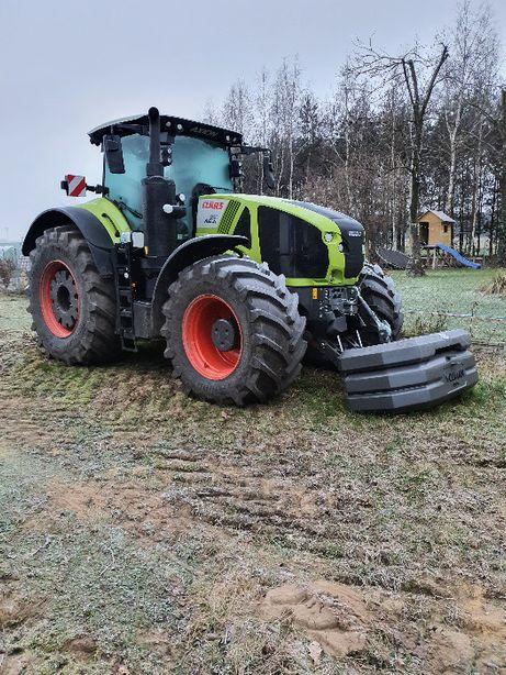 Wynajmę ciągnik rolniczy wynajem ciągnika Claas Axion 960 z operatotor